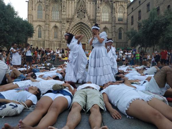 07/08/18 Jornada ponerse en los zapatos de los líderes sociales de Colombia